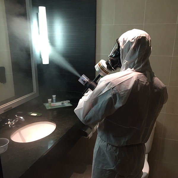 Disinfection Service | Hotel Bathroom