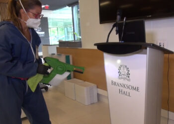 Branksome Hall uses AEGIS Microbe Shield to Protect High Touch Areas