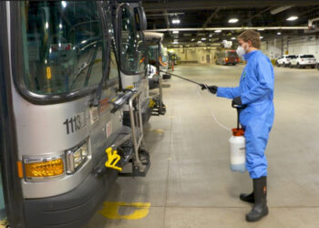 Central Ohio Transit Authority uses AEGIS Microbe Shield to Better Protect their Vehicles