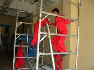 Wall and Ceiling Bio-Decontamination and AEGIS Treatment